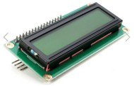 IIC/I2C 1602 Yellow Green Backlight LCD Display