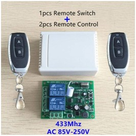 wireless remote switches control 433 Mhz